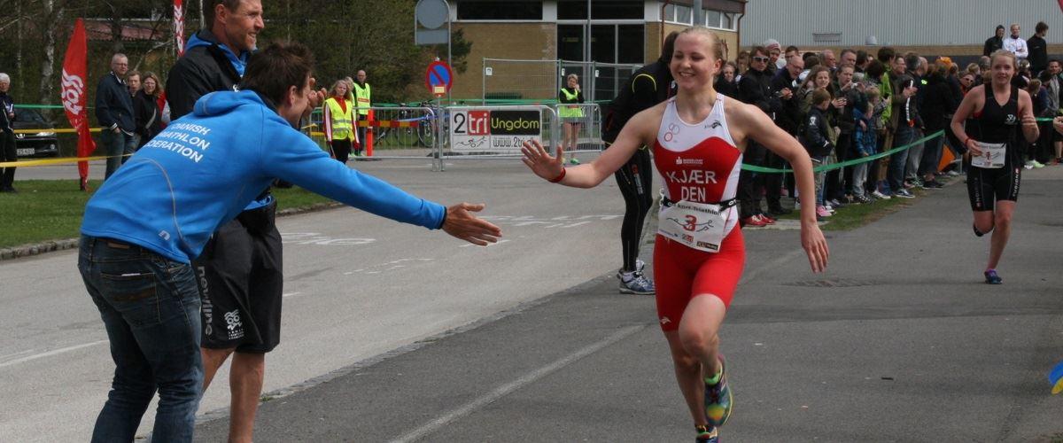 DM TRI serie 2013 - 4,2km tilskuer venlig løberute